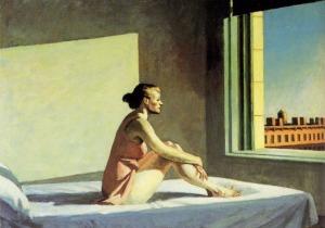 Morning Sun. Edward Hopper. 1952.