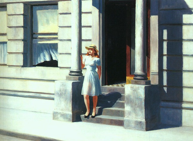 Summertime. Edward Hopper (1943)