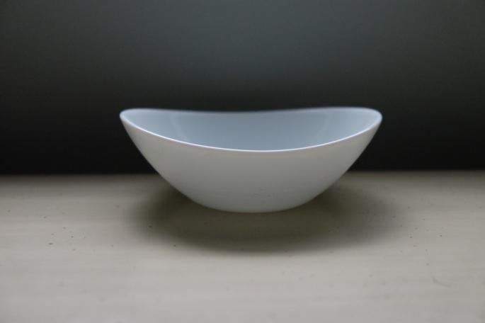 Odd bowl shape by bormioli rocco, an italian dishware company.